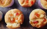 Bánh cupcake trái cây xốp mềm thơm phức