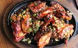 Thơm lừng hấp dẫn món gà nướng đậu phộng