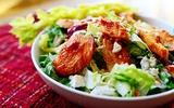 Ngon giòn hấp dẫn món salad gà