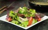 3 bước làm salad rau trộn với xốt mẻ tuyệt ngon
