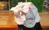 Tự may mũ vải xinh yêu cho bé chống nắng ngày hè