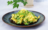 Trứng chiên mướp đắng làm nhanh ăn ngon