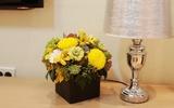 Cắm hoa đẹp với sắc vàng rực rỡ