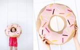 Tự may gối hình bánh Donut cực dễ thương tặng bé!
