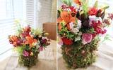 Cách cắm hoa đẹp với sắc màu rực rỡ lung linh