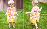 Cách tự may váy đơn giản mà đẹp cho bé diện cực xinh