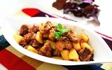 Sườn kho khoai tây lạ miệng ngon cơm