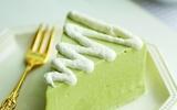 Thơm mát ngọt ngào món bánh cheesecake trà xanh