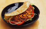 Bữa sáng ngon lành với bánh kẹp Taco từ Mexico