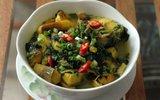 Dân dã thân thương món canh cá nấu chuối đậu