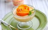 Chua thơm mát mịn món mousse xoài