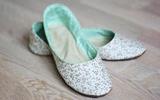 Tự may giày vải đáng yêu thật đơn giản!