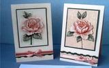 Tự làm thiệp nổi hoa hồng dễ dàng và đẹp mắt