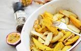 Nhâm nhi khoai nướng cay nóng hổi giòn thơm