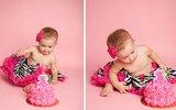 Khoảnh khắc ngộ nghĩnh trong sinh nhật bé tròn 1 tuổi
