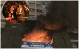Hà Nội: Cháy trường mầm non Vimeco, nhiều người hoảng loạn tháo chạy