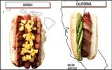 Xem sự khác biệt của chiếc bánh hot dog tại các bang trên nước Mỹ