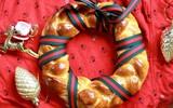 Bánh mỳ vòng nguyệt quế mềm thơm cho Noel thêm vui