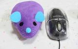 Tự may lót cổ tay hình chuột bông mềm mại êm ái