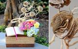 Cắm hoa với sách đẹp lạ trang trí nhà ngày Tết