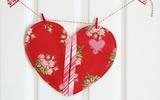 Tự may miếng nhấc nồi trái tim đáng yêu