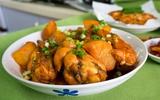 Xuýt xoa món gà kho khoai tây kiểu Hàn