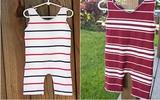 May áo liền quần cho bé thật dễ dàng từ áo cũ của bố mẹ!