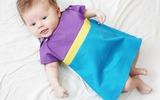 Mẹ trổ tài khéo tay với cách may váy liền cho bé cực xinh!
