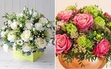 Mách bạn 2 cách cắm hoa đẹp mà dễ dàng