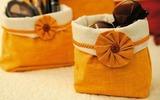 May túi vải để bàn cho nhà thêm gọn đẹp
