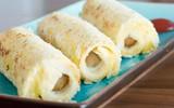 Bữa sáng nhanh gọn với bánh mì cuộn xúc xích
