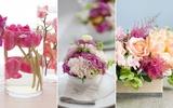 3 cách cắm hoa trang trí nhà đẹp ấn tượng