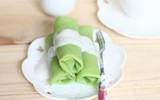 Bánh crepe dừa lá dứa ngọt ngào khó cưỡng