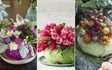 3 cách cắm hoa với bắp cải siêu độc đáo và sáng tạo