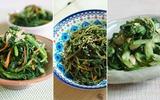 Chế biến 3 món rau quen thuộc theo kiểu Hàn Quốc cực ngon