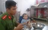 Cảnh sát Phòng cháy Chữa cháy tìm thấy bé trai Hà Nội bị lạc