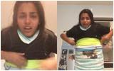 Cô gái khóc òa vì mặc 100 chiếc áo lên người được mà cởi ra thì chịu chết!