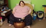 Cô gái béo nhất nước Anh bị bạn trai đá vì giảm cân