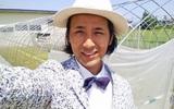 Chàng nông dân Nhật ăn mặc