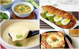 6 món ăn sáng từ trứng siêu ngon bạn phải thử ngay