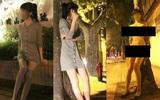 Thiếu nữ cởi quần áo khỏa thân uốn éo trên đường phố Hàn gây xôn xao