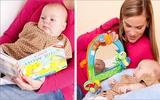 6 trò chơi dạy con thông minh cho bé 0-3 tháng tuổi