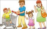 Các bà mẹ hiến kế cách xử lý khi con khóc thét trong siêu thị