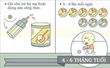 Lưu ý về các cữ ăn cho bé dưới 1 tuổi mẹ cần biết
