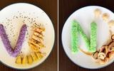Món cơm tạo hình chữ cái của mẹ Việt đốn tim em bé lười ăn nhất