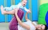 Bài tập vận động giúp bé 4-6 tháng tuổi thông minh, khỏe mạnh