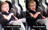 Những clip hài hước hút hàng triệu người xem về phản ứng siêu yêu của bé