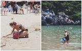 Câu chuyện về bức ảnh gây sốt ''Người nước ngoài nhặt rác ở bãi biển Việt Nam
