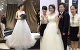 Đám cưới của cặp đôi bất chấp điều tiếng dư luận khiến cả tỉnh Quảng Ninh xôn xao