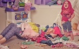 Bộ ảnh những kỉ niệm nhớ đời hài hước của một bà mẹ